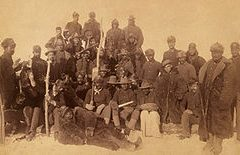 Buffalo Soldiers of the 25th Regiment in 1890