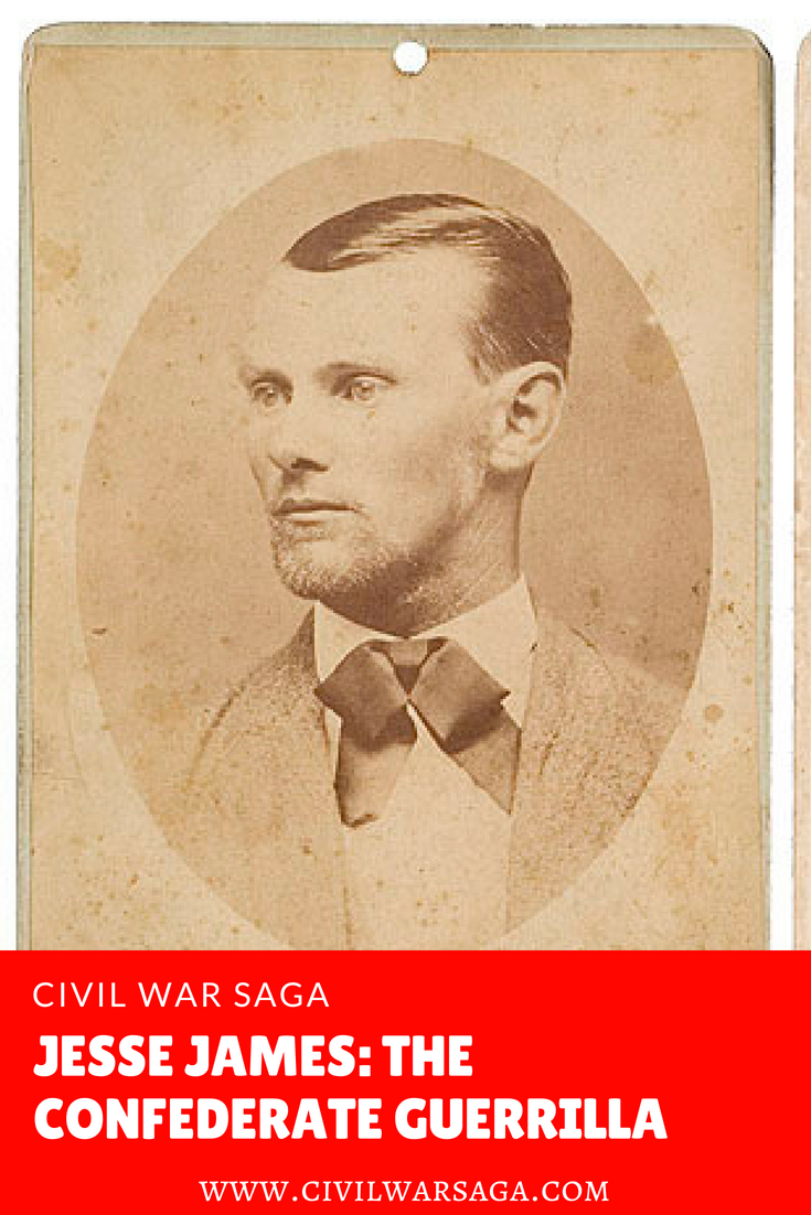 Jesse James: Confederate Guerrilla