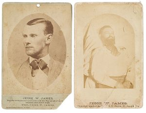 Jesse James post mortem
