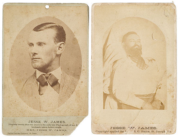 Jesse James post-mortem