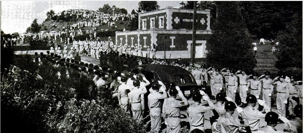 Albert Woolson's funeral in 1956