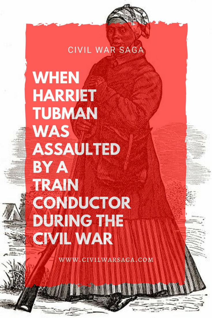 Harriet Tubman Assaulted by a Train Conductor
