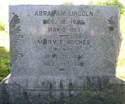 Grave of Abraham B. Lincoln in Lacey Spring, Virginia