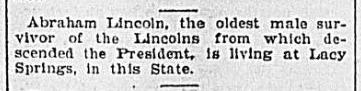Article from the Times-Dispatch - Feb 12 1903