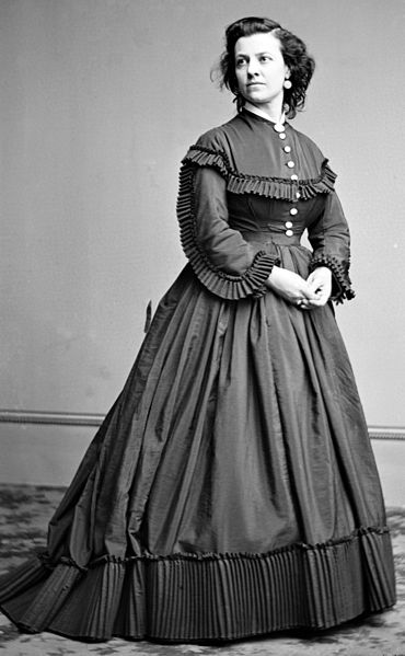 Pauline Cushman circa 1855 -1865