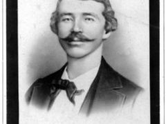 Studio portrait of William Quantrill circa 1860-1865