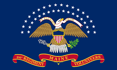 Flag of the 20th Maine Volunteer Infantry Regiment