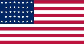 United States Civil War Flag