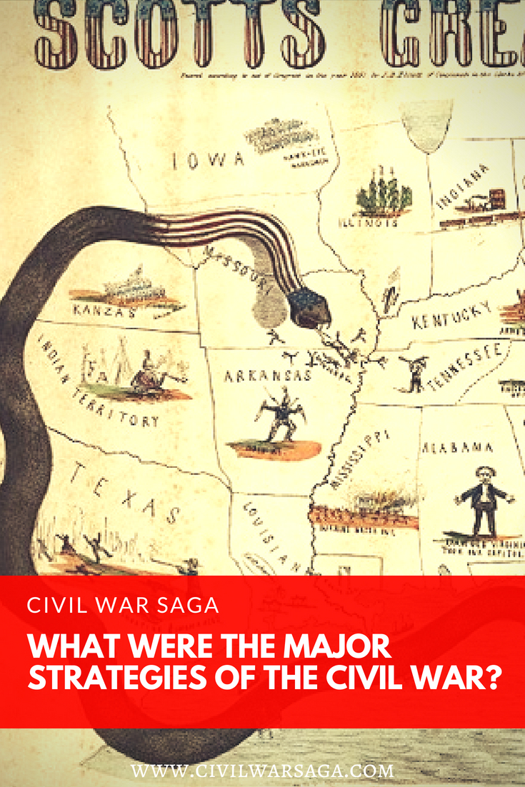 What Were the Major Strategies of the Civil War