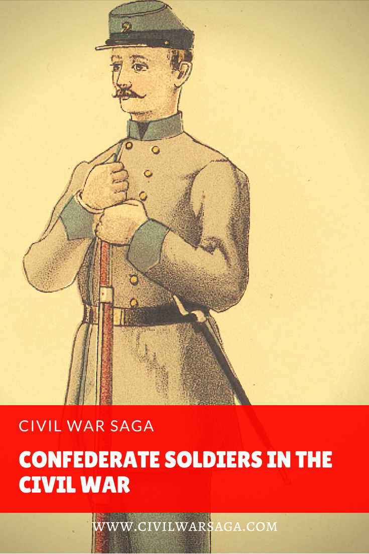 Confederate Soldiers in the Civil War
