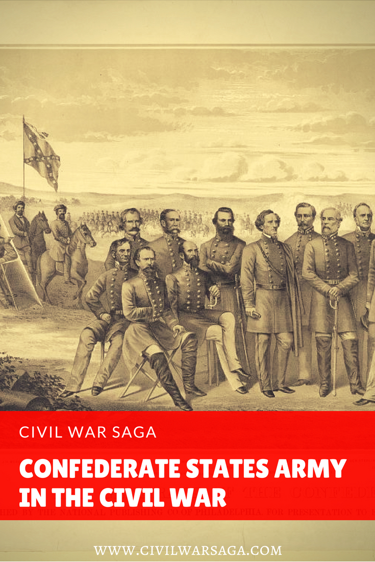 Confederate States Army in the Civil War