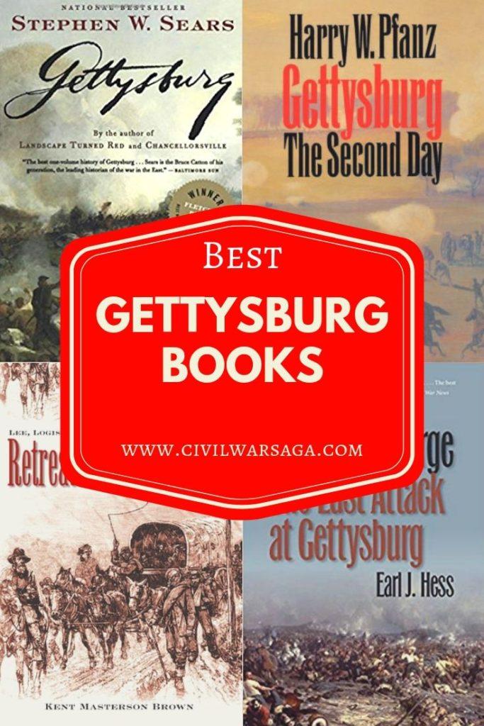 Best Books About Gettysburg