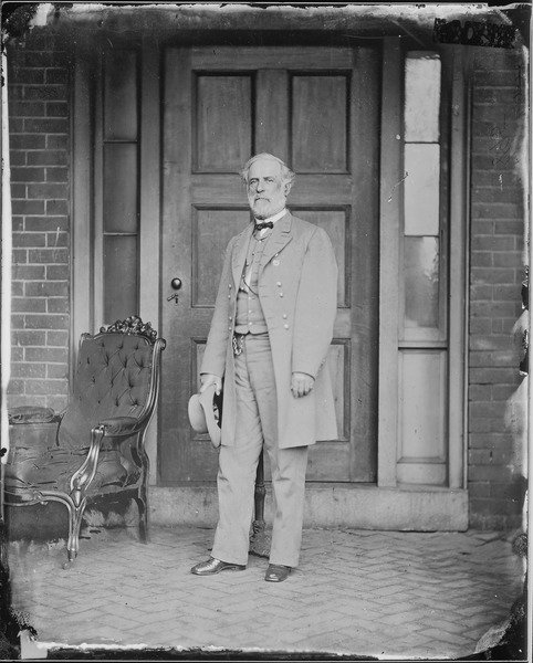 Robert E. Lee  in 1865