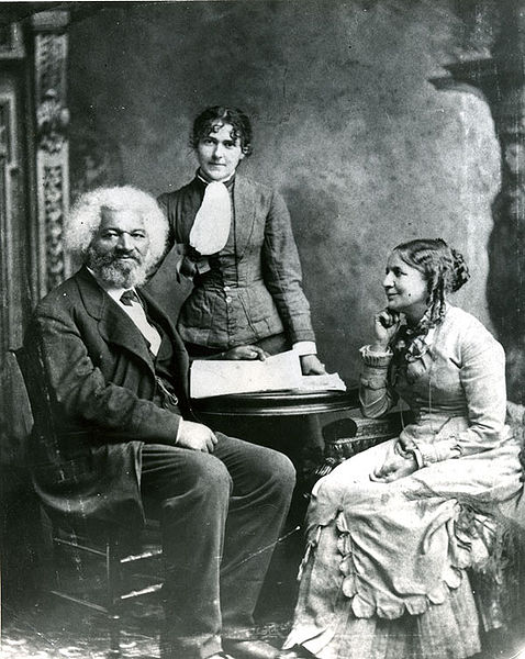 Frederick Douglass with wife Helen Pitt