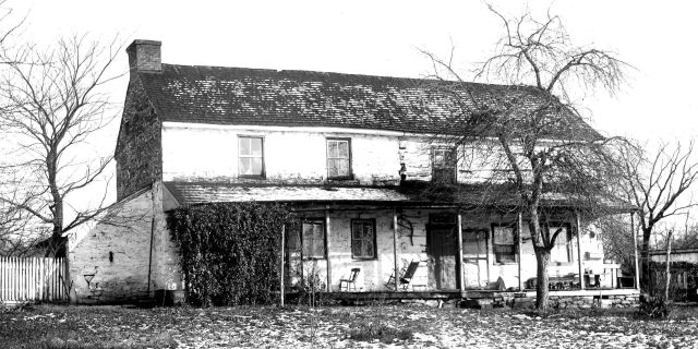 Battle of Gettysburg, Spangler Farmhouse, circa 1863