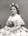 Mary Todd Lincoln photographed by Mathew Brady in 1861