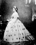 Mary Todd Lincoln, photographed by Mathew Brady, circa 1861