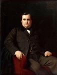Prince Napolon, oil painting, circa 1860