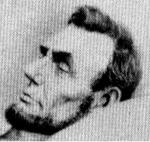 Post Mortem photo of Abe Lincoln in 1865