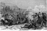 "Fort Pillow Massacre, ""Massacre at Fort Pillow,"" illustration in Harper's Weekly, circa April 30, 1864"