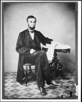 Abraham Lincoln photographed by Alexander Gardner on Aug 9, 1863