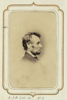 Abraham Lincoln photographed by Anthony Berger on Feb 9, 1864