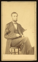 Abraham Lincoln photographed by Alexander Gardner on August 9, 1863