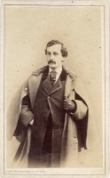 John Wilkes Booth photographed by Charles Deforest Fredericks circa January 1860
