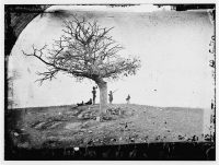 "Battle of Antietam, ""A Lone Grave,"" photographed by Alexander Gardner circa Sept  1862"