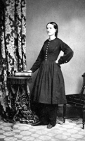 Dr. Mary Edwards Walker photographed by John Holyland circa 1860-1870