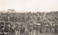 Dedication ceremony for Soldier's National Cemetery at Gettysburg on November 19, 1863