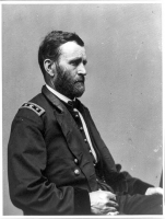 Ulysses S. Grant photographed by Mathew Brady circa 1860-1885
