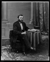 Ulysses S. Grant photographed by Mathew Brady in 1869