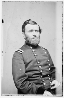 Ulysses S. Grant photographed by Mathew Brady circa 1860-1865