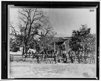 Appomattox Courthouse in Virginia circa  April 1865