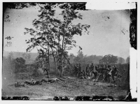 Burying the dead, after the Battle of Antietam, photographed by Alexander Gardner, in Sept 1862