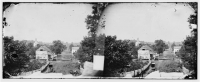 Sharpsburg, Md, View with Episcopal church in distance, photographed by Alexander Gardner, in Sept-Oct 1862