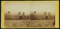 View of battle field of Antietam on day of battle, 17th September, 1862 photographed by Alexander Gardner