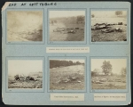 Federal dead at Gettysburg on first day, photographs of dead soldiers, horses, and a donkey on the battlefield at Gettysburg, July 1863