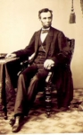 Abe Lincoln in 1861