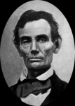 Abe Lincoln in 1858