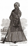 Civil War-era woodcut of Harriet Tubman