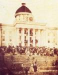 Confederate President Jefferson Davis' Inauguration in 1861