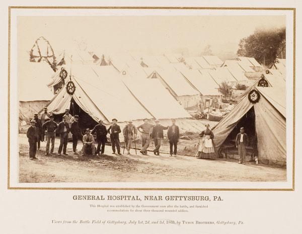 General Hospital Near Gettysburg PA circa 1863