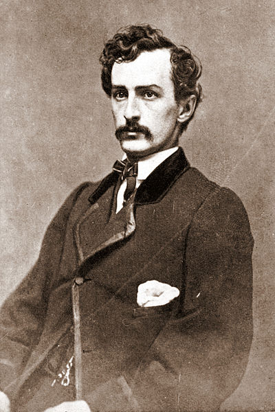 John Wilkes Booth in 1865