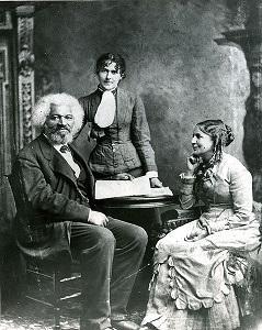 Frederick Douglass and his second wife Helen Pitt