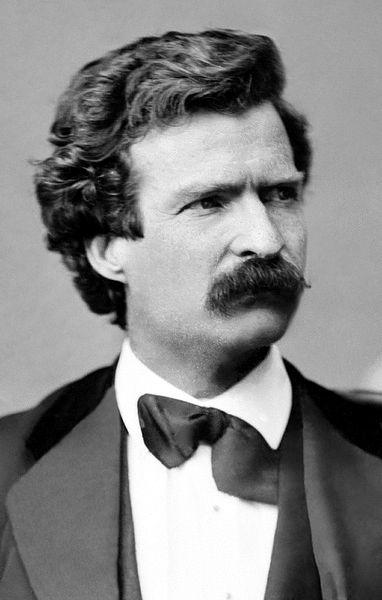 Mark Twain in 1871