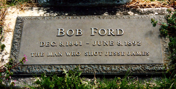 Robert Ford's grave