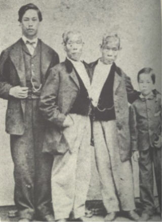 Chang and Eng Bunker (c.1865-1870)