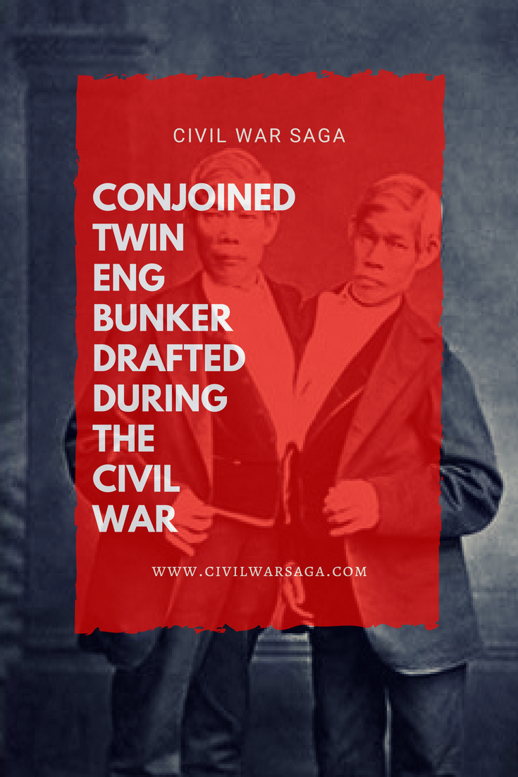Conjoined Twin Eng Bunker Drafted During the Civil War